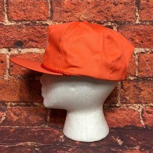 3f9ec3169bd7c Accessories - Vtg The Home Depot Orange Snapback Rope Hat